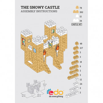 THE SNOWY CASTLE