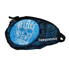 Turquoise SUPER PRO BAG BLACK DEATH BLU 2019